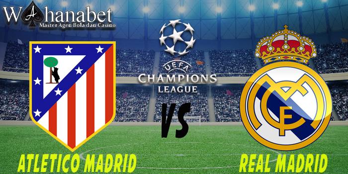Prediksi Atletico Madrid vs Real Madrid (Liga Champions) 11 Mei 2017