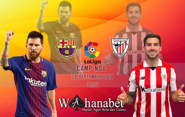 Pertandingan Barcelona vs Athletic Bilbao Liga Spanyol