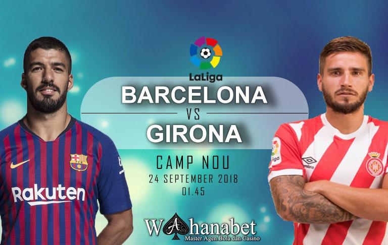 Pertandingan Barcelona vs Girona Liga Spanyol