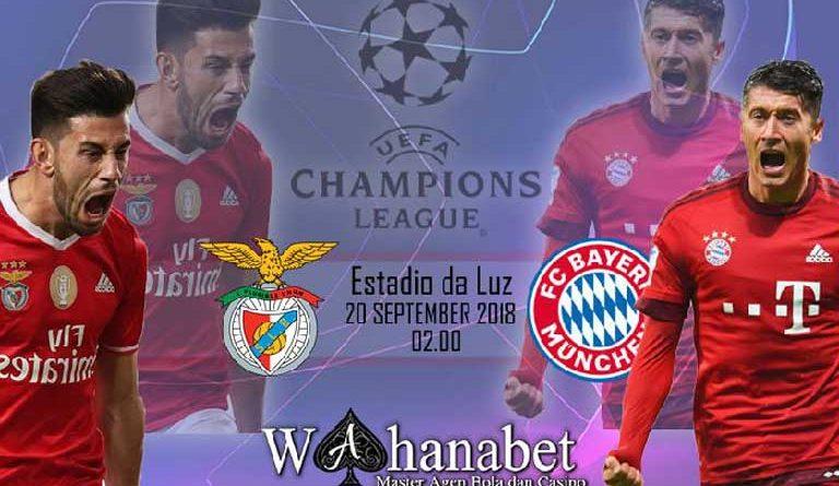 Pertandingan Benfica vs Bayern Munchen UEFA Champions League