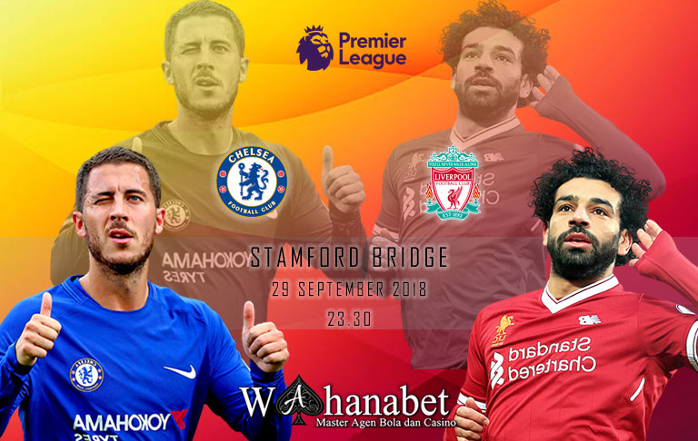 Pertandingan Chelsea vs Liverpool Premier League