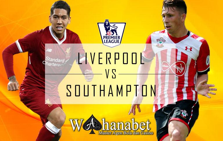 Pertandingan Liverpool vs Southampton Premier League