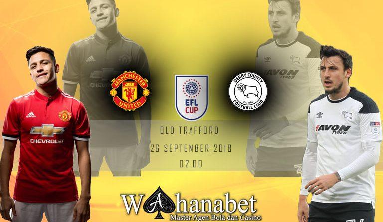 Pertandingan Manchester United vs Derby EFL Cup