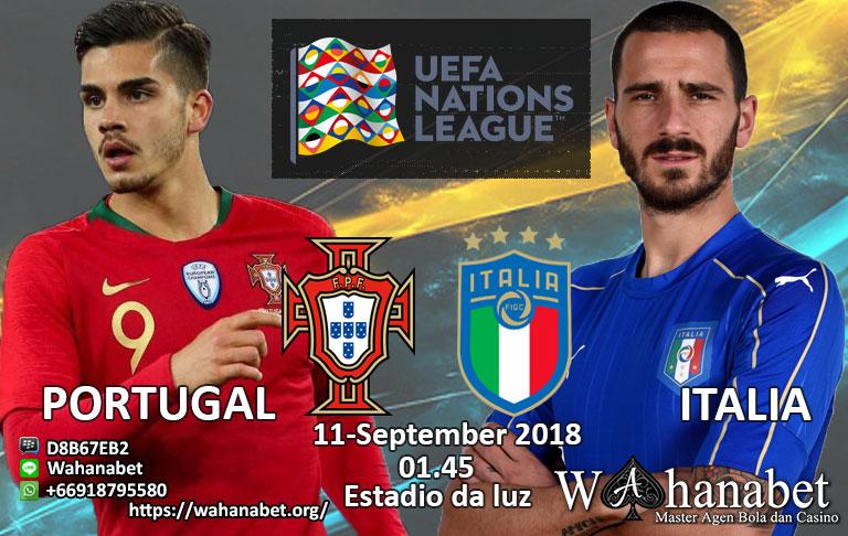 Pertandingan Portugal vs Italia UEFA Nations League