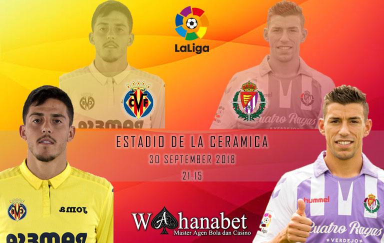 Pertandingan Villarreal vs Valladolid Liga Spanyol