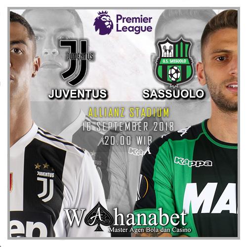 Pertandingan Juventus vs Sassuolo Italian Serie A