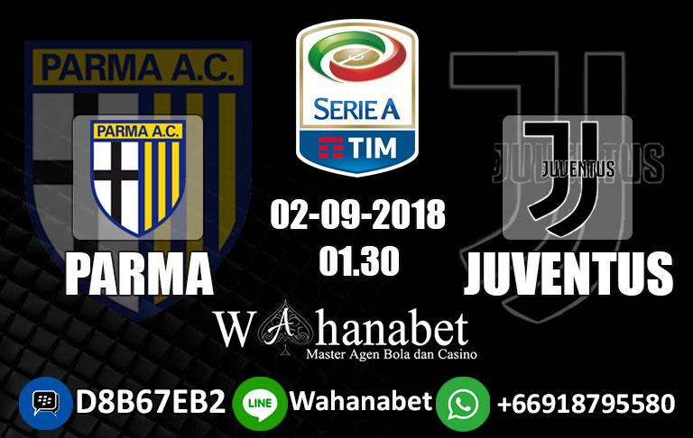 Pertandingan Parma vs Juventus di Liga Italia