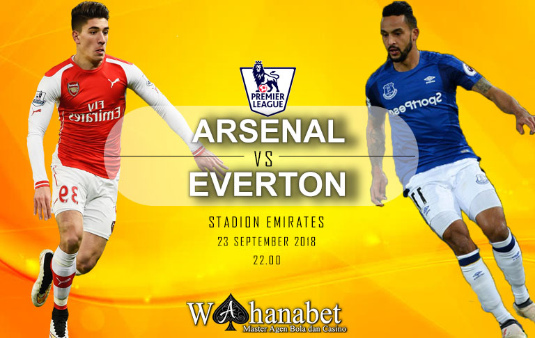 Pertandingan Arsenal vs Everton Premier League