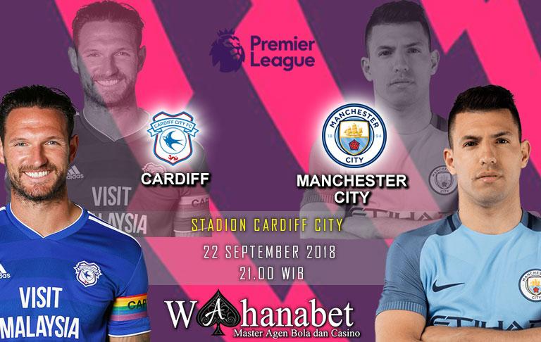 Pertandingan Cardiff vs Manchester City Premier League