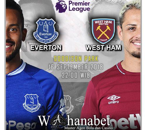 Pertandingan Everton vs West Ham United Premier League