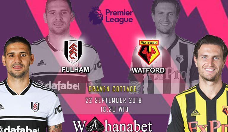 Pertandingan Fulham vs Watford Premier League
