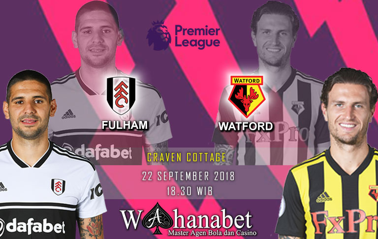 Pertandingan Fulham vs Watford Premier League