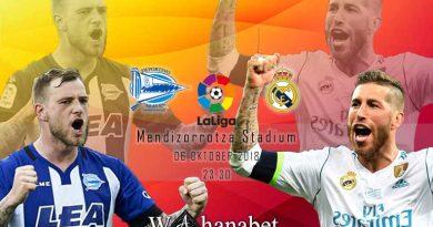 Pertandingan Alaves vs Real Madrid Liga Spanyol