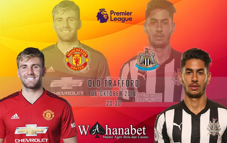 Pertandingan Manchester United vs Newcastle Premier League