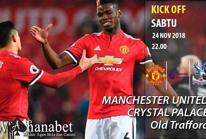 Pertandingan Manchester United vs Crystal Palace Premier League