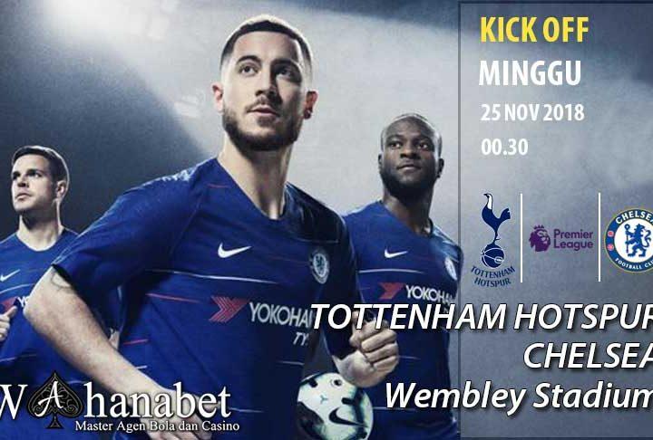 Pertandingan Tottenham Hotspur vs Chelsea Premier League