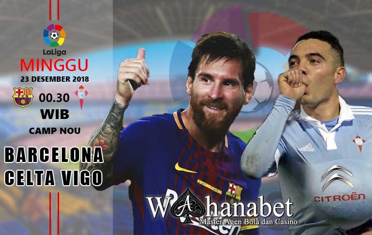 Pertandingan BarcelonavsCelta Vigo