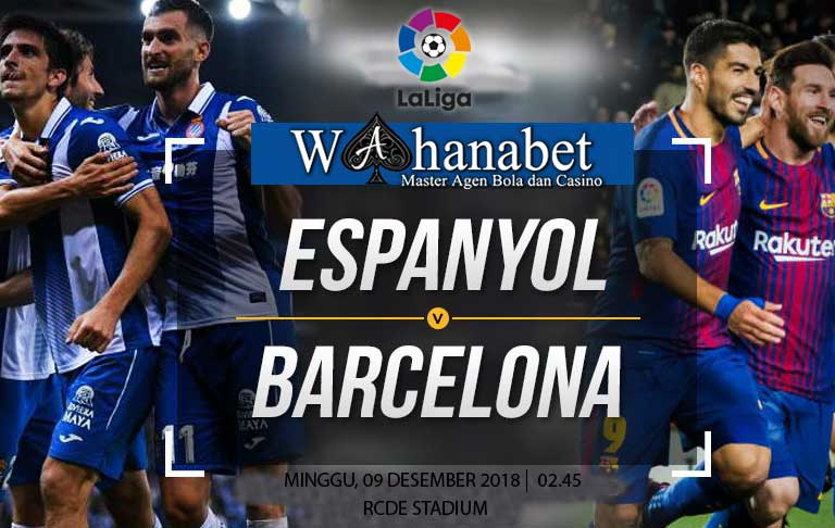 Pertandingan Espanyol vs Barcelona