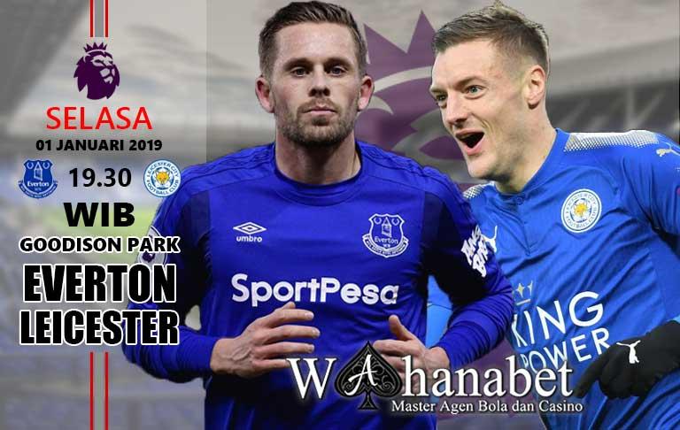 Pertandingan Everton vs Leicester