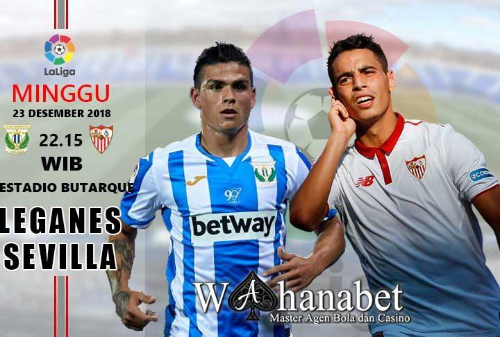 Pertandingan Leganes vs Sevilla
