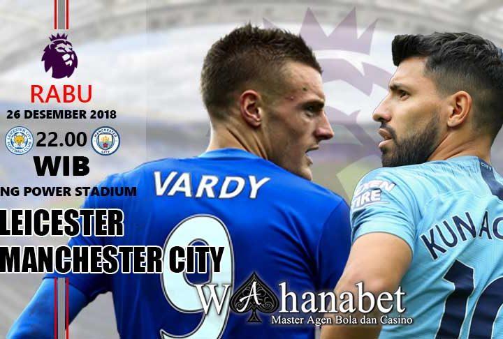 Pertandingan Leicester vs Manchester City
