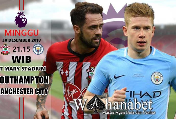 Pertandingan Southampton vs Manchester City