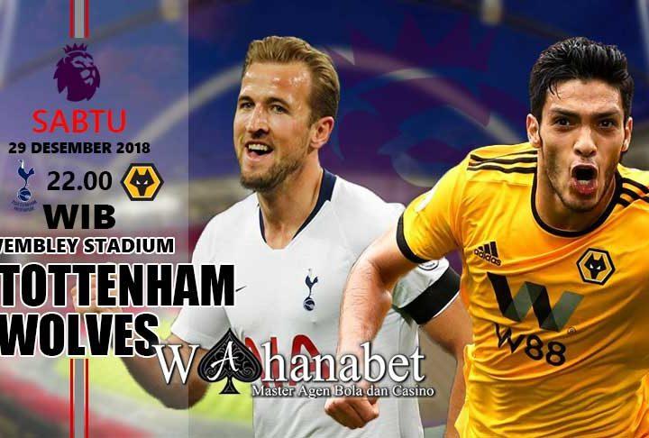 Pertandingan Tottenham vsWolverhampton