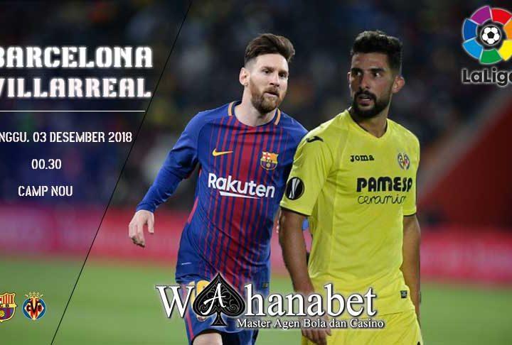 Pertandingan BarcelonavsVillarreal