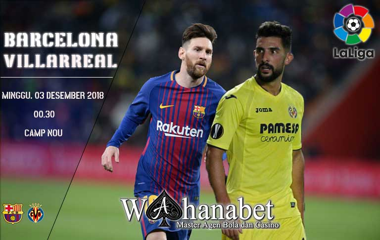 Pertandingan Barcelona vs Villarreal