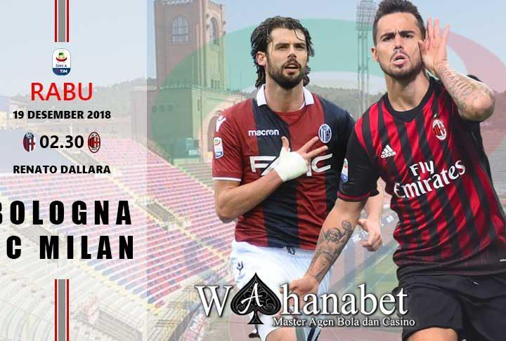 Pertandingan BolognavsAC Milan