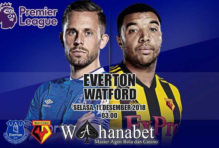 Pertandingan EvertonvsWatford