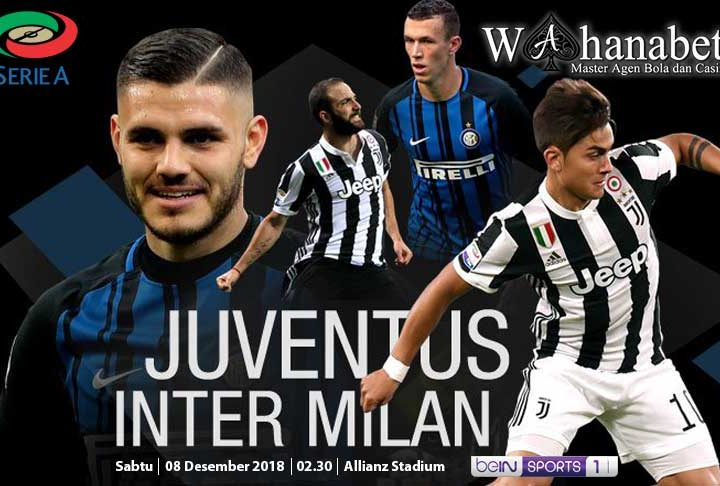 Pertandingan Juventus vs Inter Milan