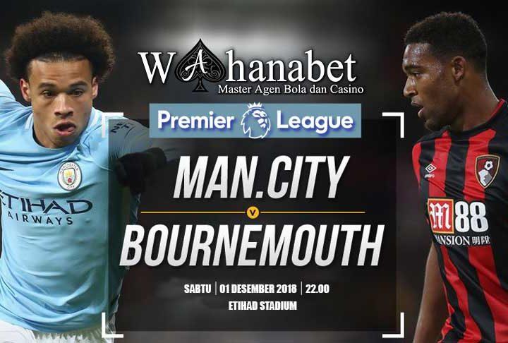 Pertandingan Manchester CityvsBournemouth