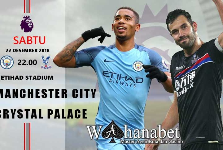 Pertandingan Manchester City vs Crystal Palace