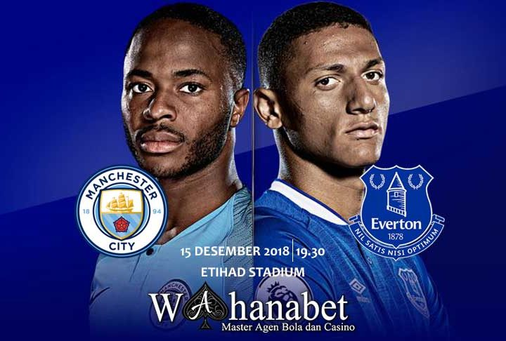 Pertandingan Manchester City vs Everton