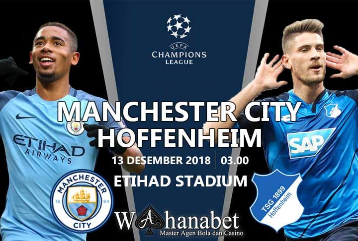 Pertandingan Manchester City vs Hoffenheim