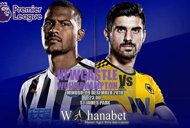 Pertandingan NewcastlevsWolverhampton