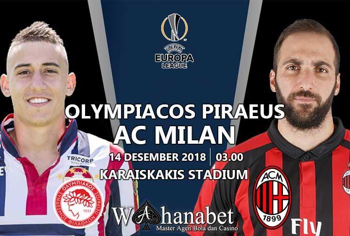 Pertandingan Olympiacos PiraeusvsAC Milan