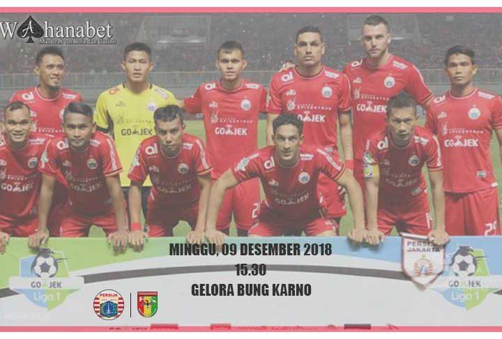 Pertandingan Persija Jakarta vs Mitra Kukar