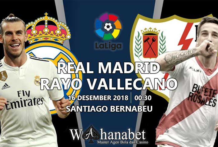 Pertandingan Real Madrid vs Rayo Vallecano
