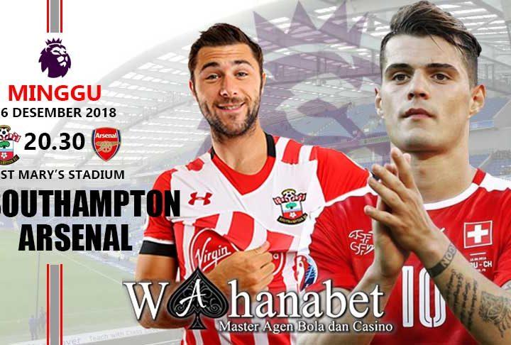 Pertandingan Southampton vs Arsenal