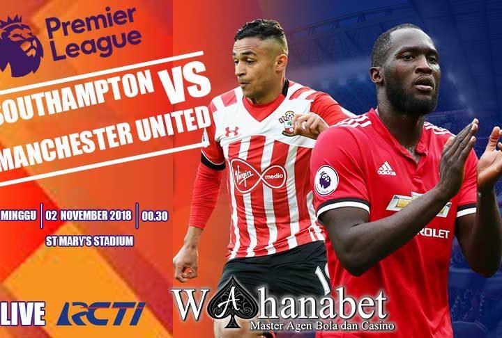 Pertandingan SouthamptonvsManchester United