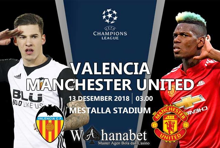 Pertandingan Valencia vs Manchester United