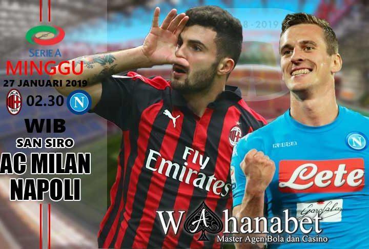 Pertandingan AC Milan vs Napoli
