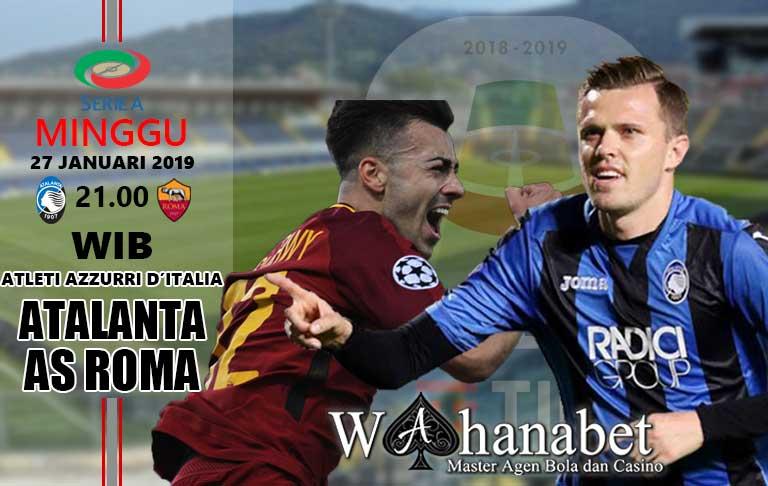 Pertandingan Atalanta vs AS Roma