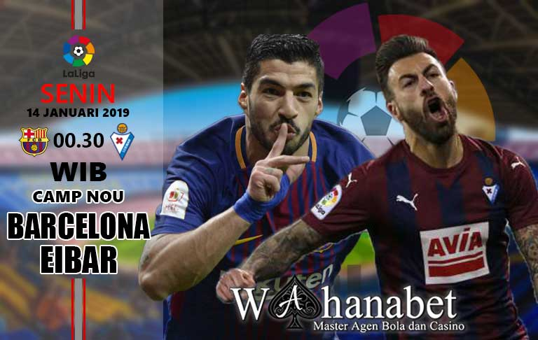 Pertandingan Barcelona vs Eibar