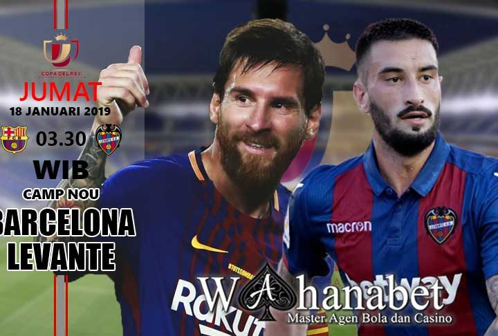 Pertandingan Barcelona vs Levante