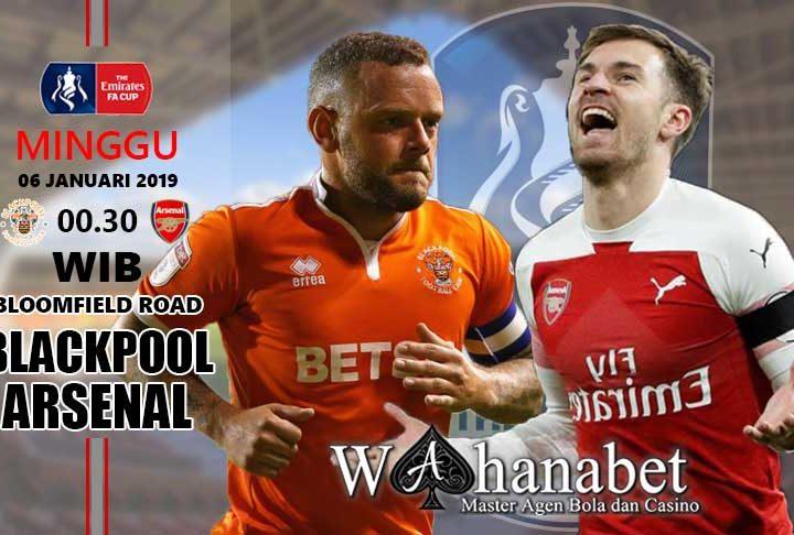Pertandingan Blackpool vs Arsenal