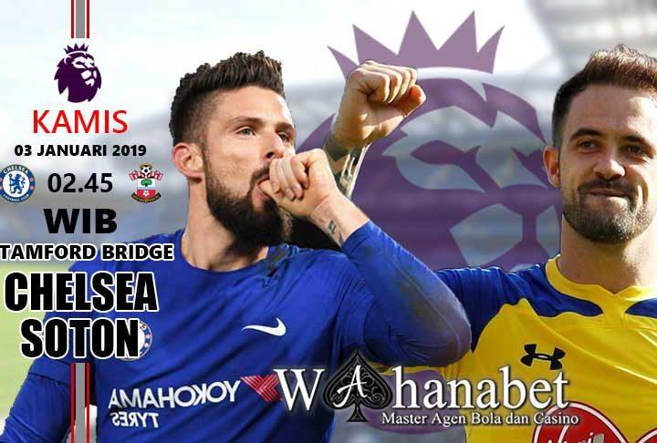 Pertandingan Chelsea vs Southampton