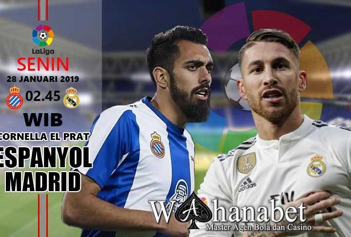 Pertandingan Espanyol vs Real Madrid